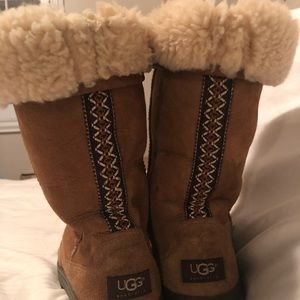 WOMEN'S UGG AUSTRALIA Chestnut waterproof boots.